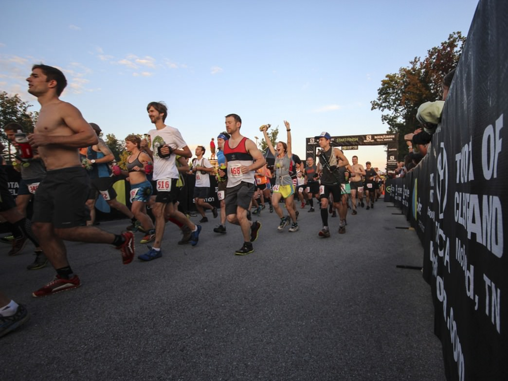 The start of the StumpJump—one of the premier ultra-runs in the South