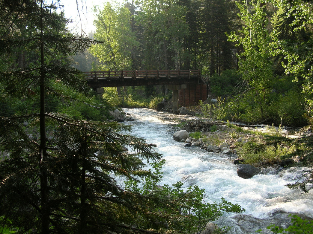 The East Fork of the Kaweah River carved the Mineral King Valley.