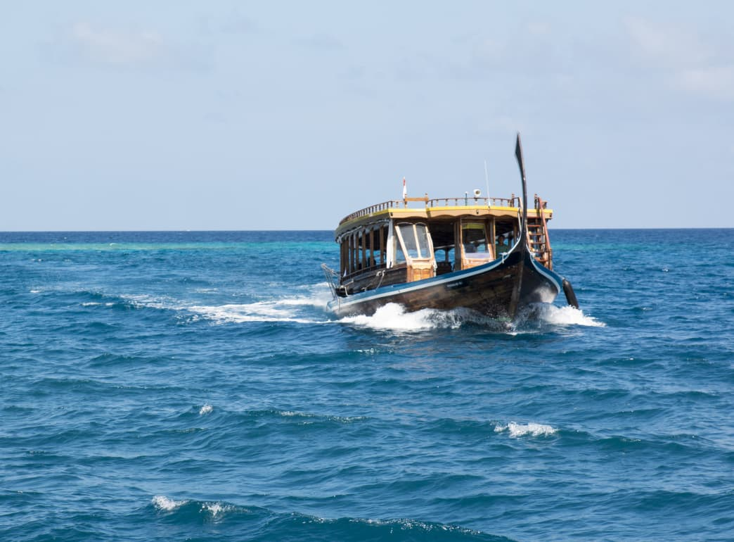 If you want to switch up the scenery, chase some waves, or explore a new island, chances are you'll be hopping on a boat similar to this one. Drew Zieff