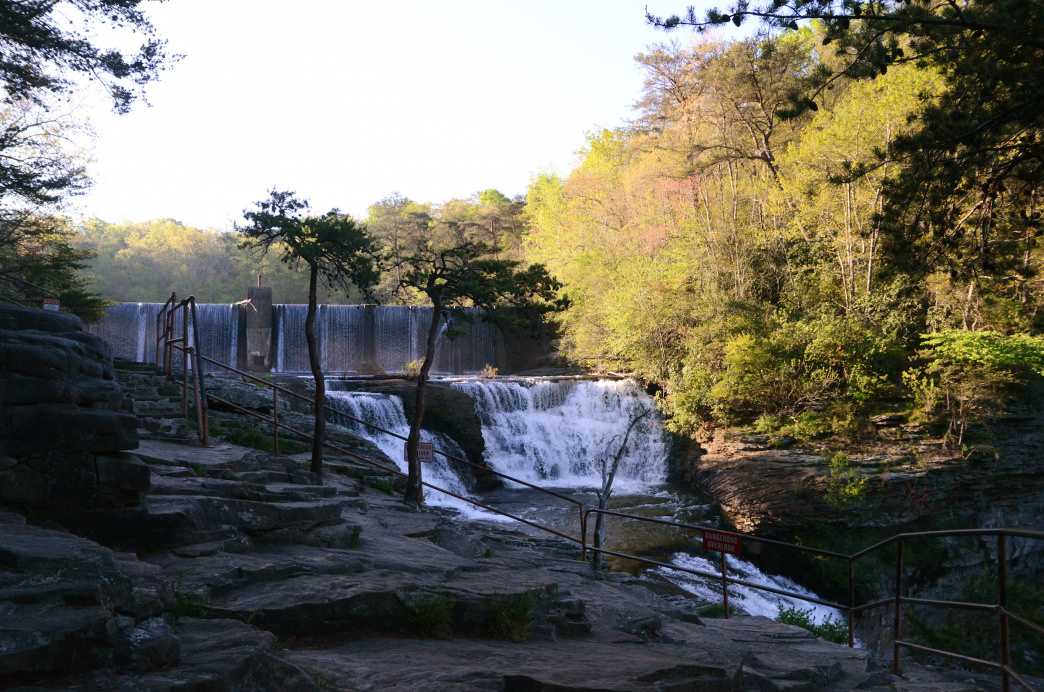 The views from the top and bottom of the falls are both equally stunning.