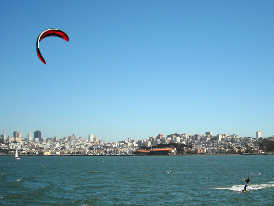 Kitesurfing San Francisco Bay