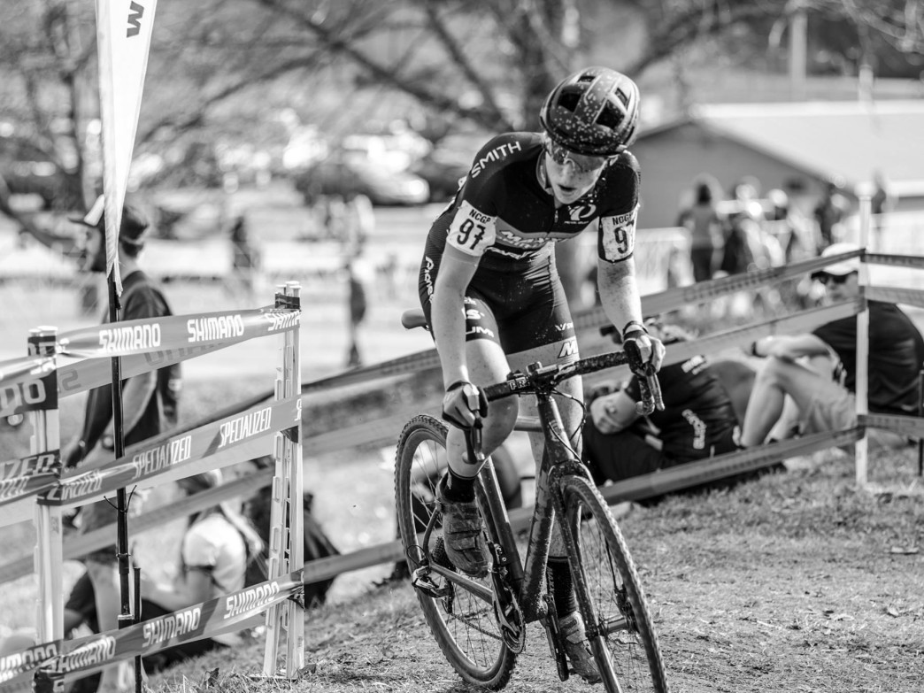 Erica Zaveta is a 5 time collegiate cycling champion....in 5 separate divisions.