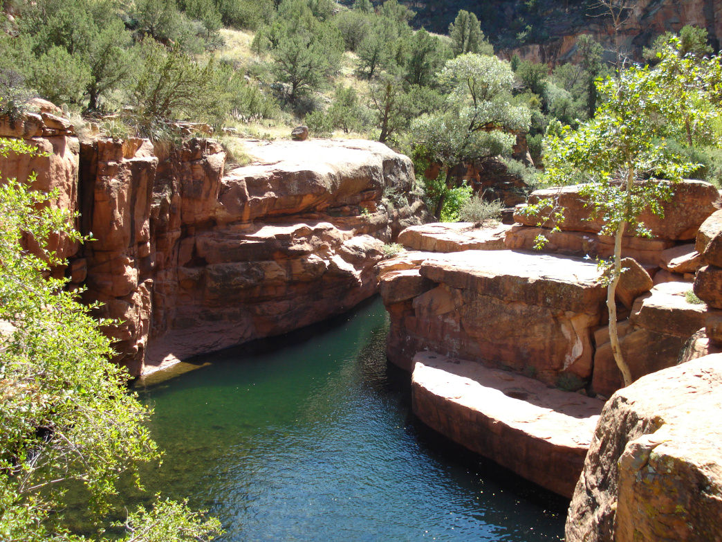 4 must visit swimming holes near flagstaff k hl blog - Camping near me with swimming pool ...