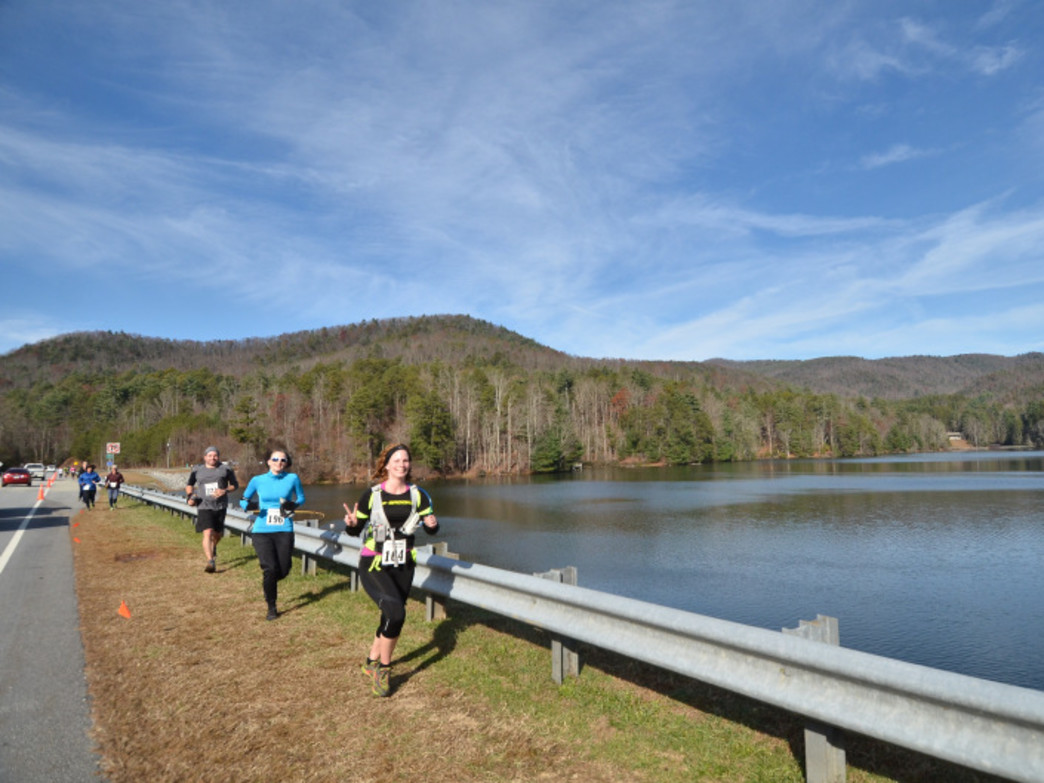 Helen Holiday Half runs through Unicoi State Park