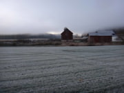 First Frost on the Farm