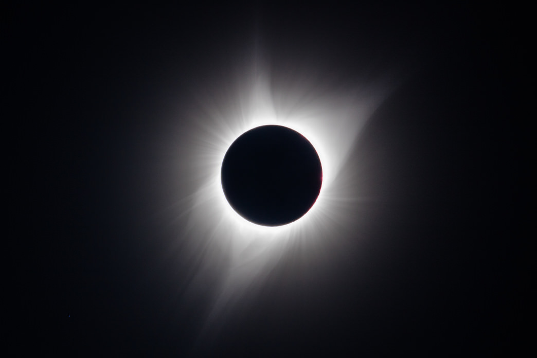 A total solar eclipse—one of the more gobsmacking spectacles viewable on terra firma.