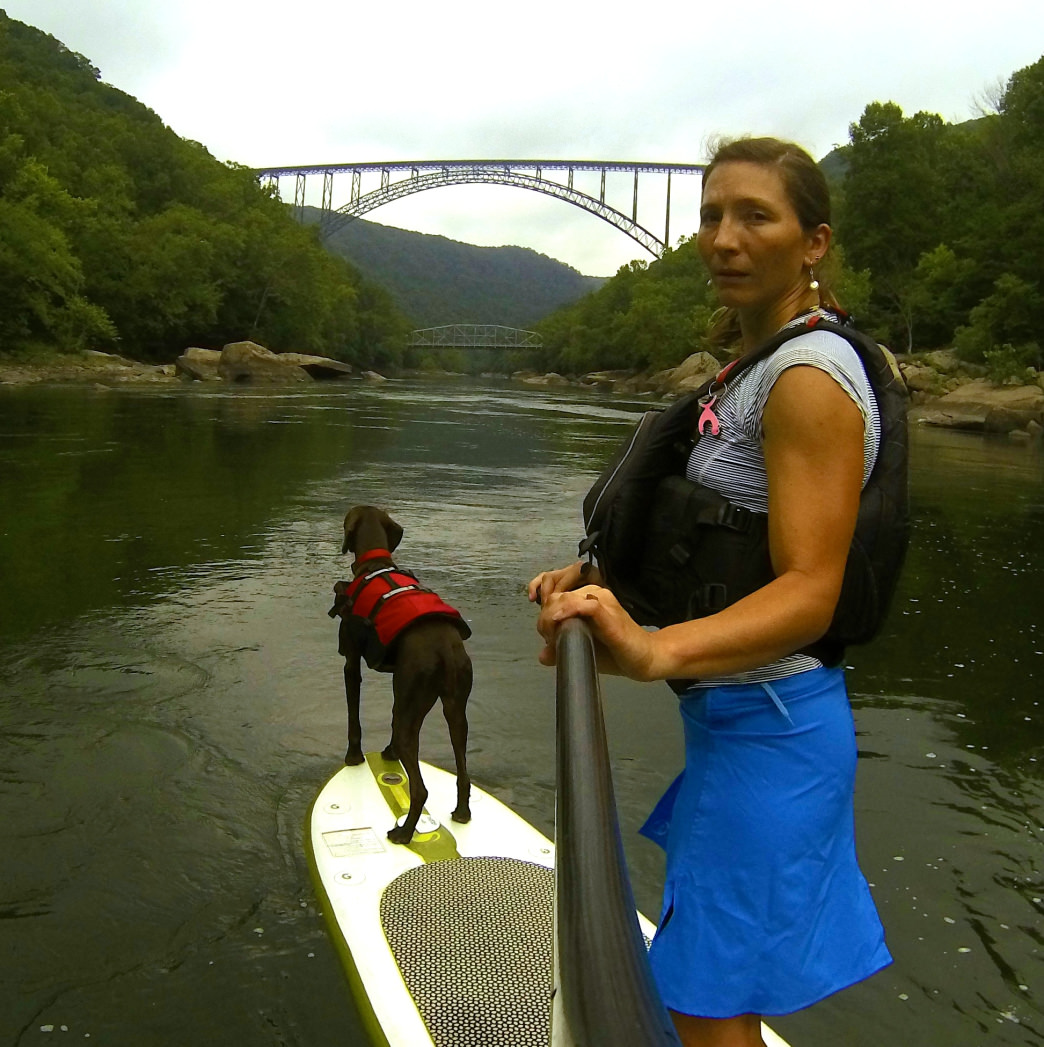 Dogs are a friendly companion to take to the water.     Melanie Seiler Hames