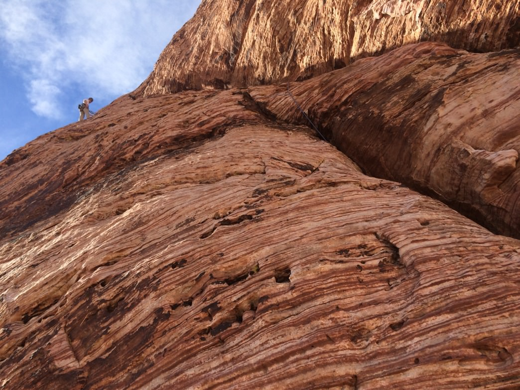 World-class climbing in Red Rock Canyon, just a half-hour from Las Vegas