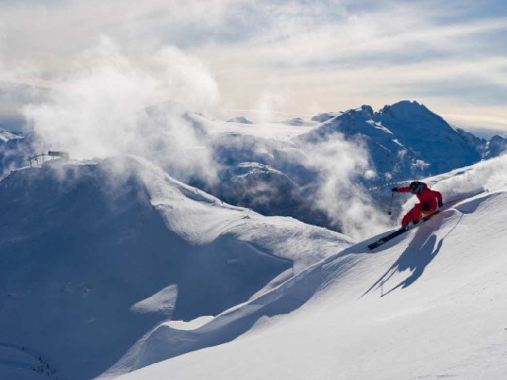 Whistler Blackcomb is North America's largest ski resort, with 8,171 acres of terrain.
