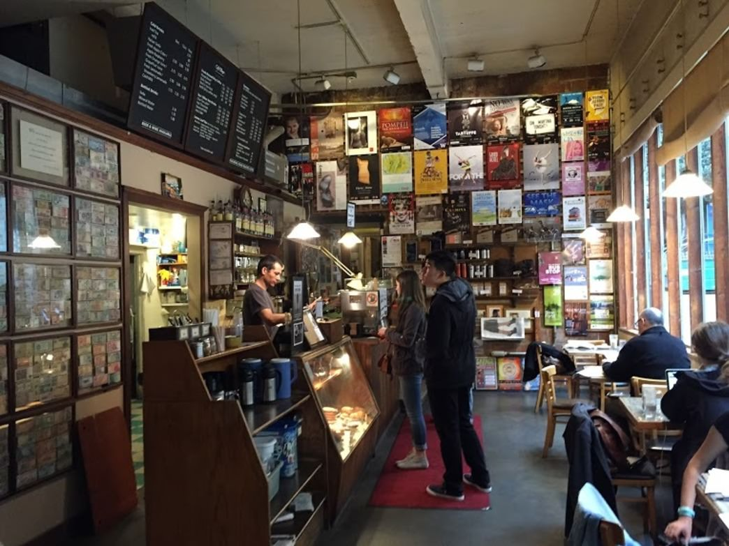 The hip, eclectic environs of Seattle's original coffee house