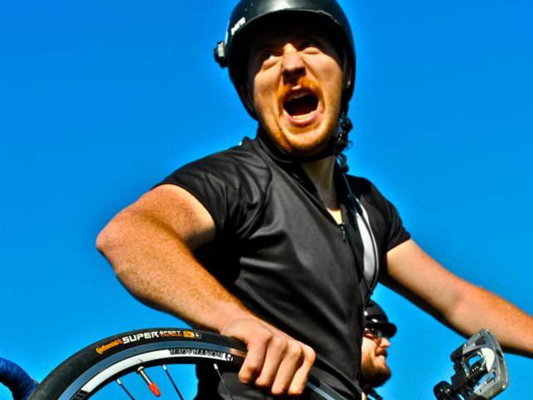 With the vicissitudes of April weather, the primal bike scream is common occurrence