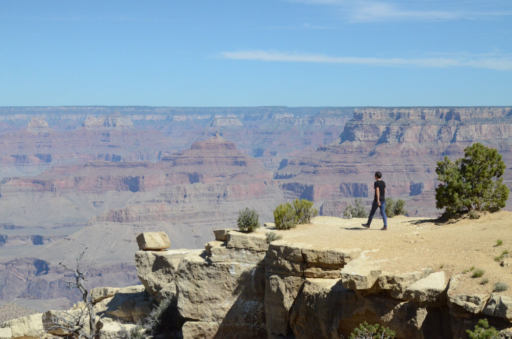 The Grand Canyon in all its glory.