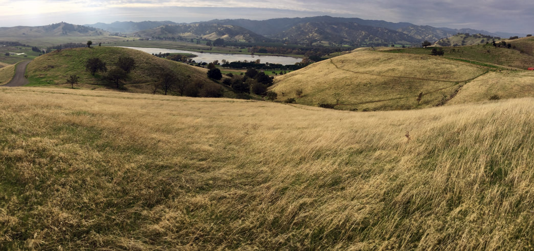 The Vacaville area has plenty of hills if you like a challenge!