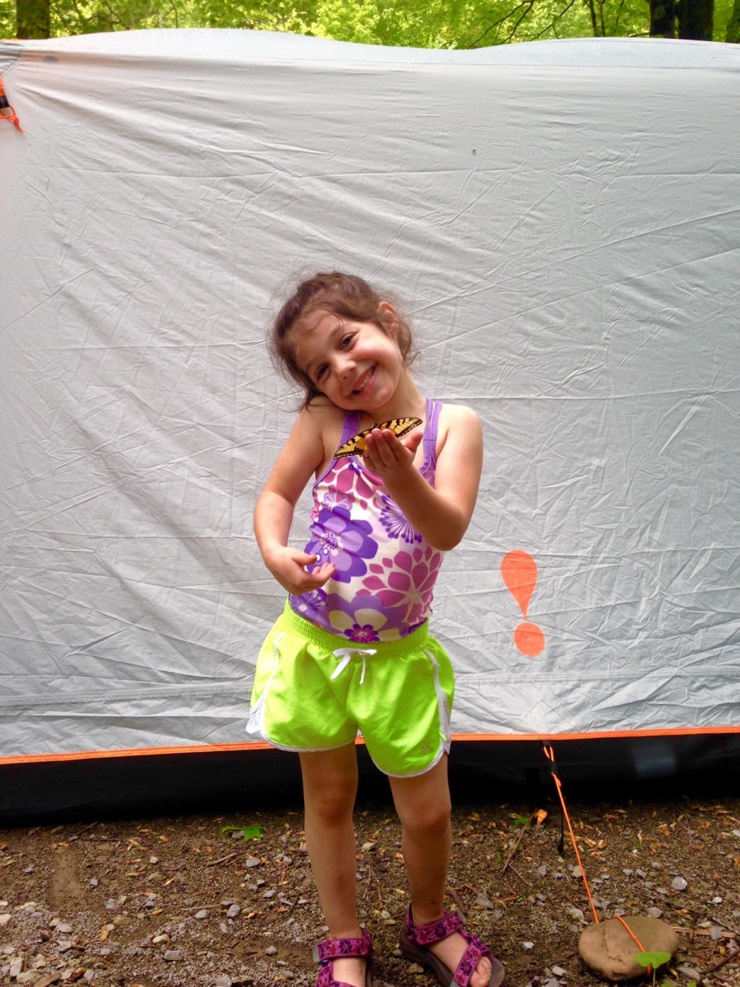 "Engage your kids in the planning process and build up their excitement so when ""camping day"" comes, they are ready!     Joe DeGaetano"