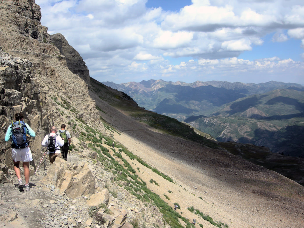 HIke Mt. Timpanogos to reach nearly 12,000 feet of pure alpine glory.
