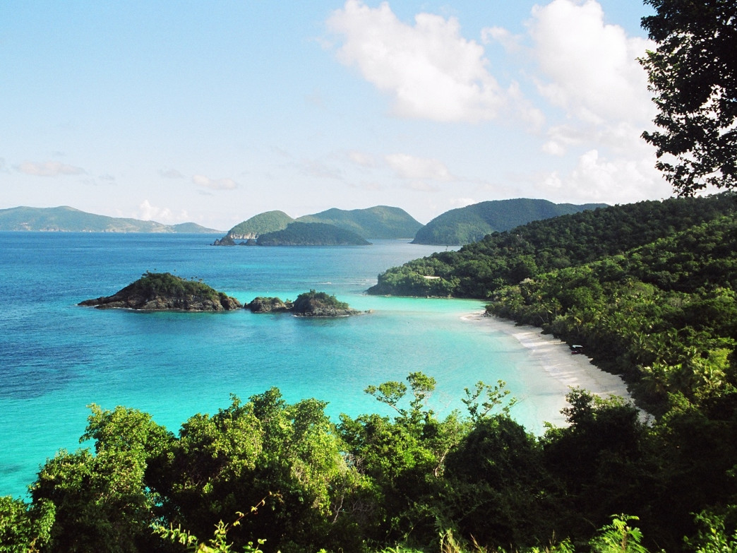 Trunk Bay, Virgin Islands National Park.