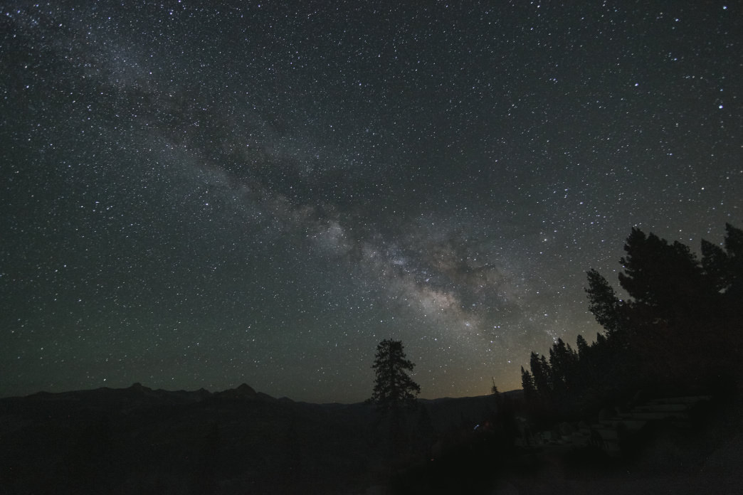 Yosemite is almost as beautiful at night as it is by day.