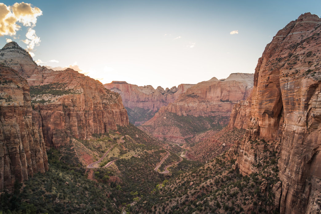 Zion Overlook.