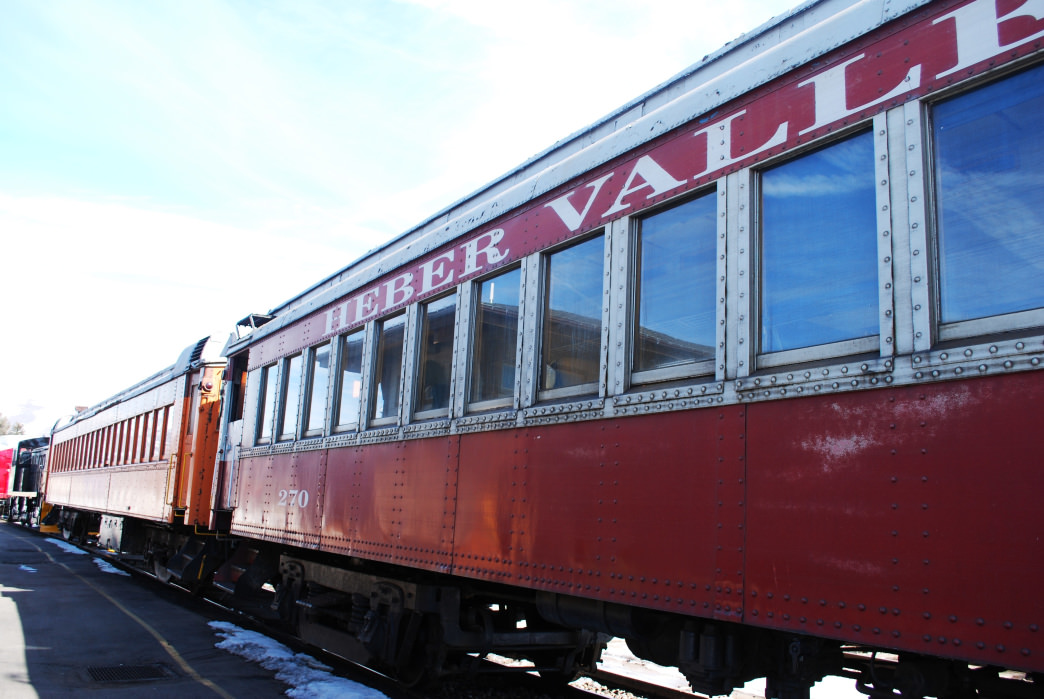 The Heber Valley Railroad dates back to the late 1800s.