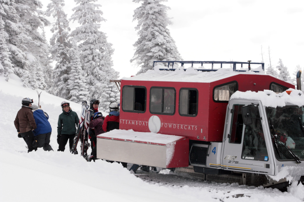 Steamboat Powdercats has something for everyone from first-timers to veterans.