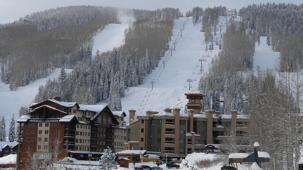 With 85 trails, Purgatory Resort attracts skiers and snowboarders to the region in the winter.