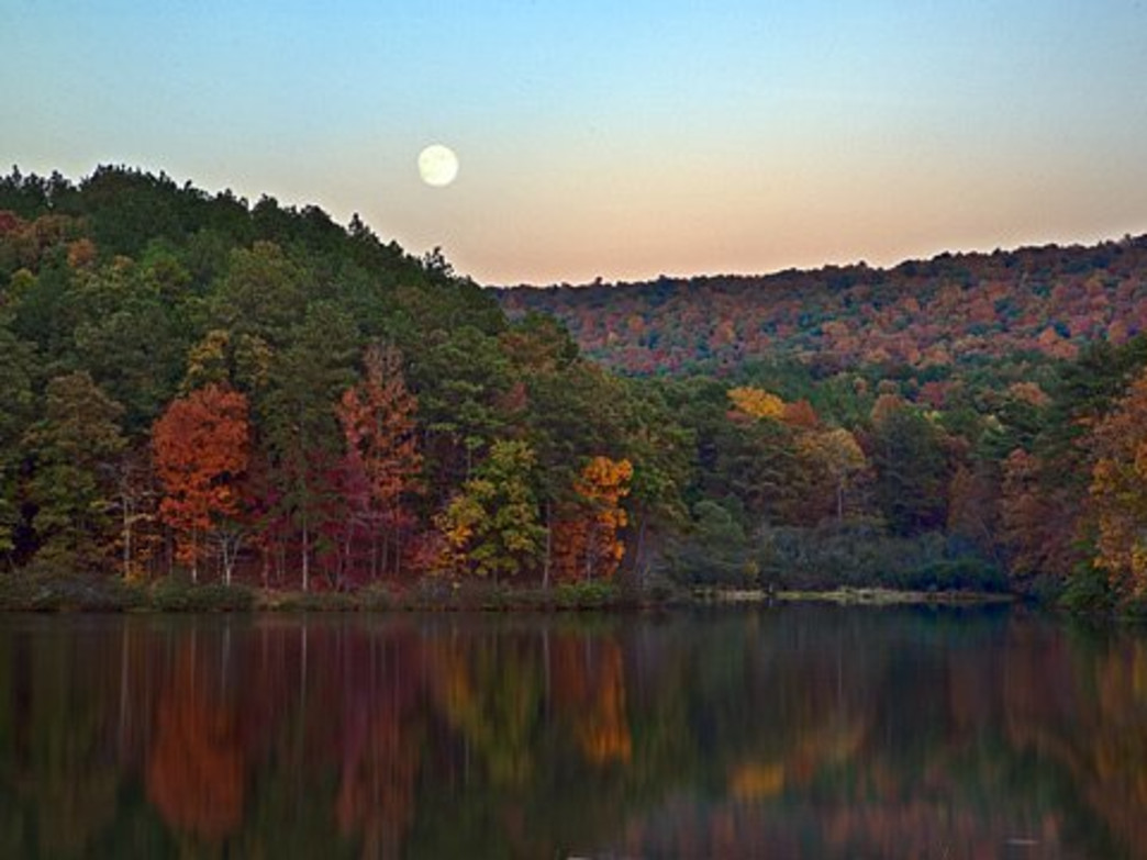 Fall is a great time to tackle the trails at Oak Mountain State Park.