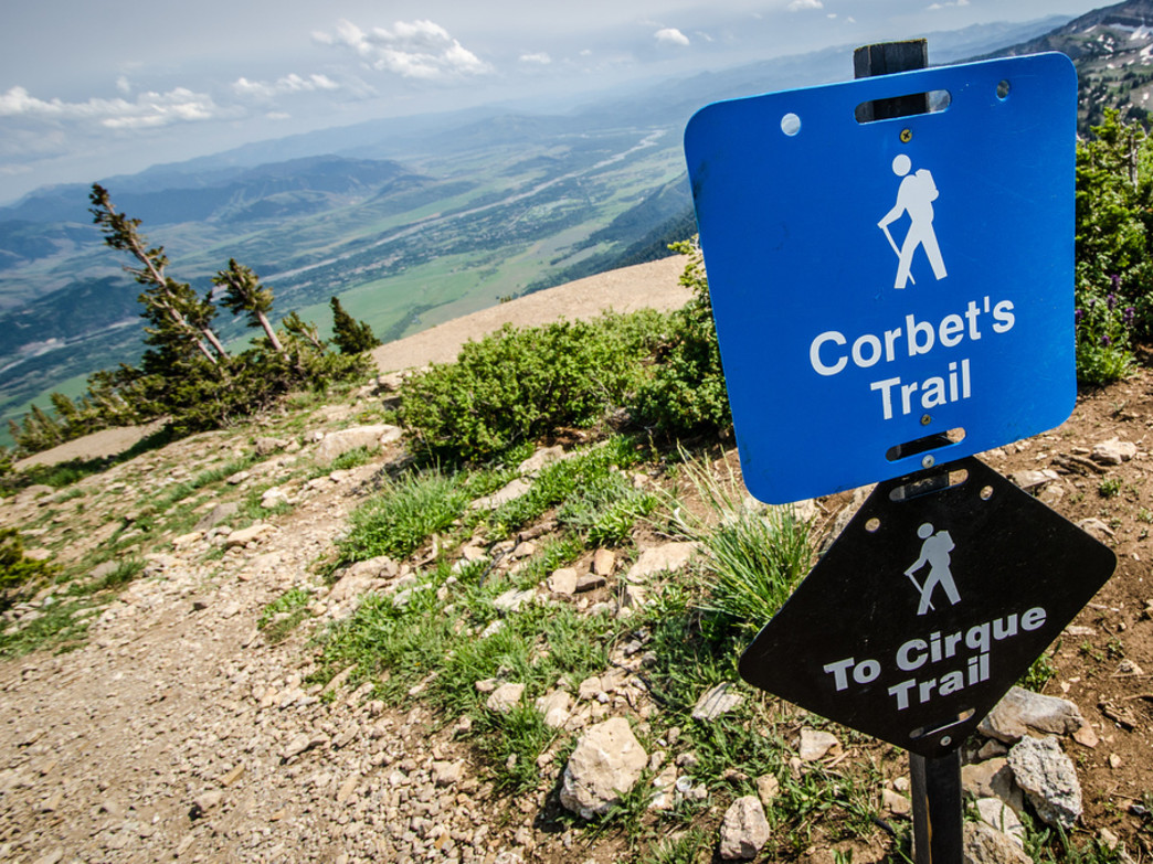 Taking to the trails in Jackson Hole