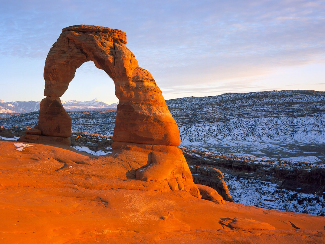 Delicate Arch is possibly the world's most famous arch.