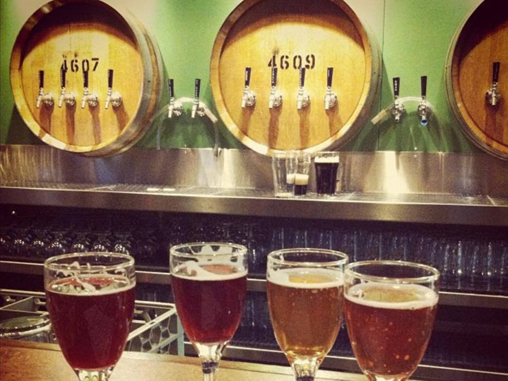 Cascade Barrel Brewing House serves a diverse lineup of sour beers.