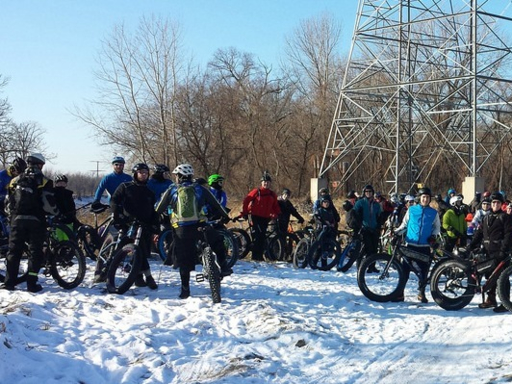 Fat Bikes at Minnesota River Bottoms