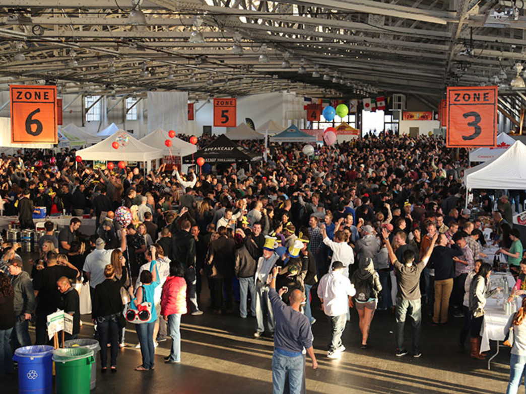 Mingle with beer-loving masses at the San Francisco International Beer Festival.