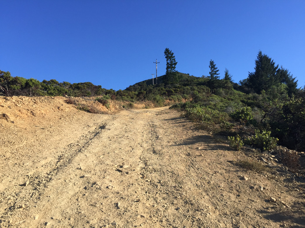 Climb this steep ascent if you're in a rush to summit