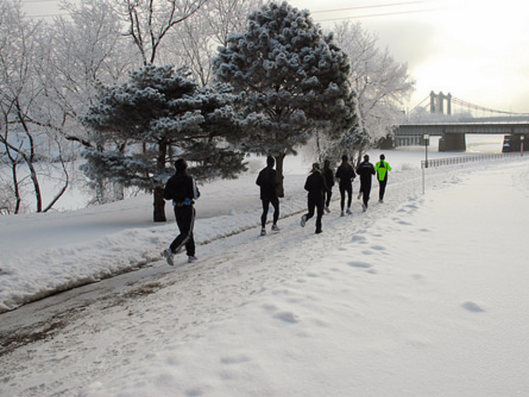Winter Running in the Twin Cities