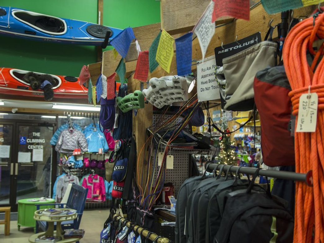 River Sports has your climbing needs covered for indoors or out.
