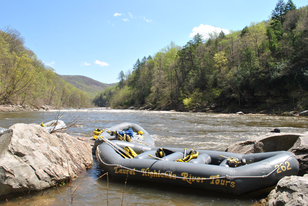 With three section, you can easily spend a full day (or more!) on the Cheat River.