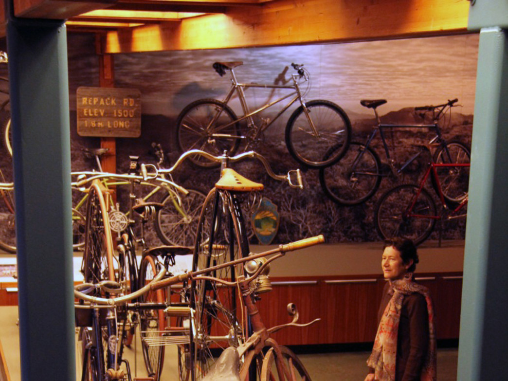 Well-curated exhibits from the MMBHOF will showcase the history of cycling.