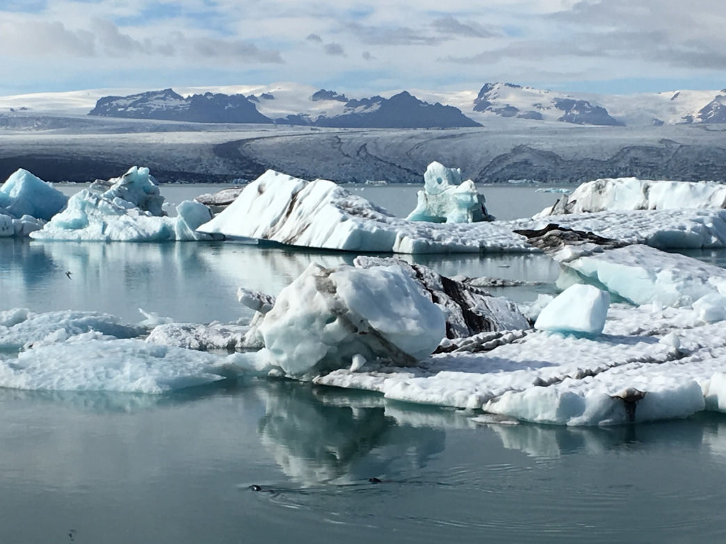 It's worth spending a few days in the vicinity of the Vatnajokull glacier in Southeast Iceland. When the light is right, Jokulsarlon glacial lagoon is a magical site. Opt for the spendy amphibious tour only if you like company.