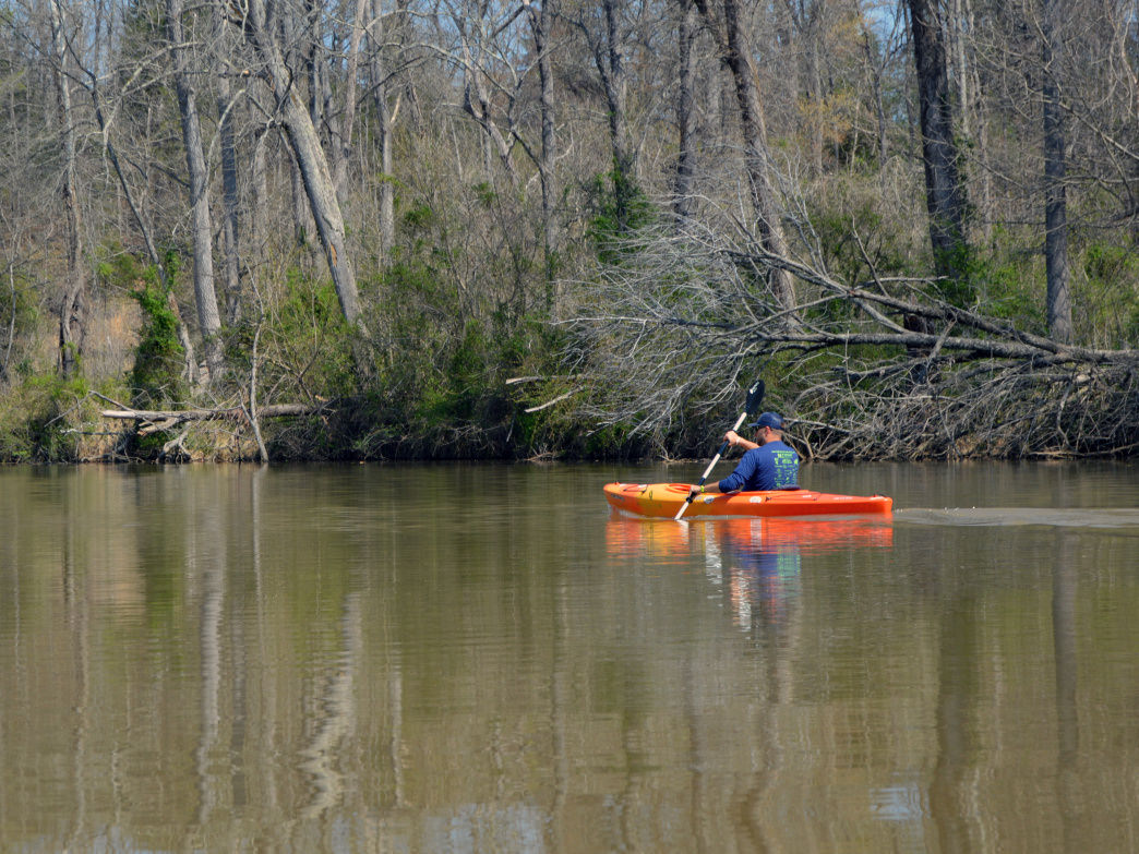 Gaston County features paddling options for everyone from a first-timer to an expert.