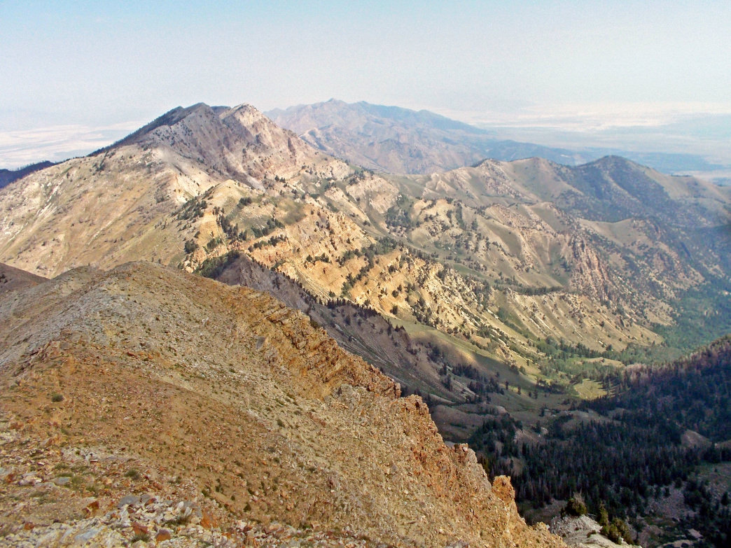 Hiking Deseret Peak, the highest point in both Tooele County and in the Stansbury Mountains, provides panoramic views and few crowds.