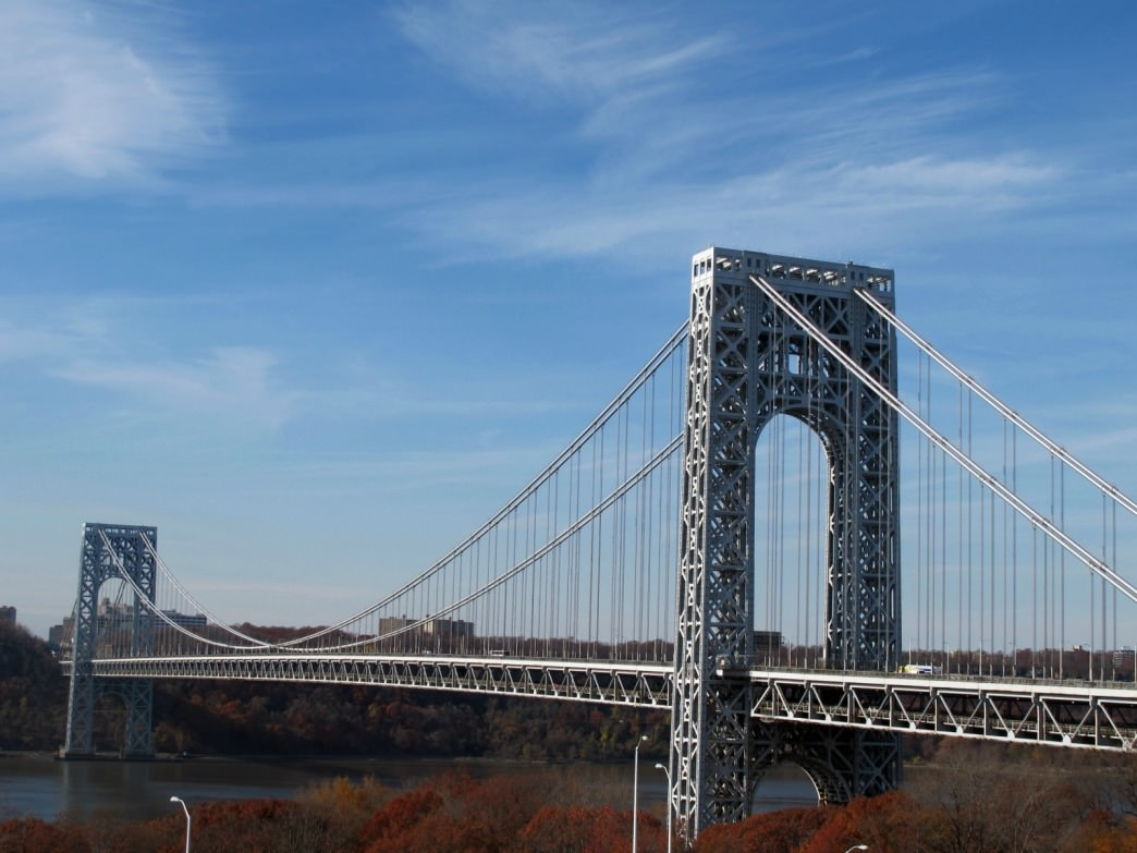 The stunning George Washington Bridge.