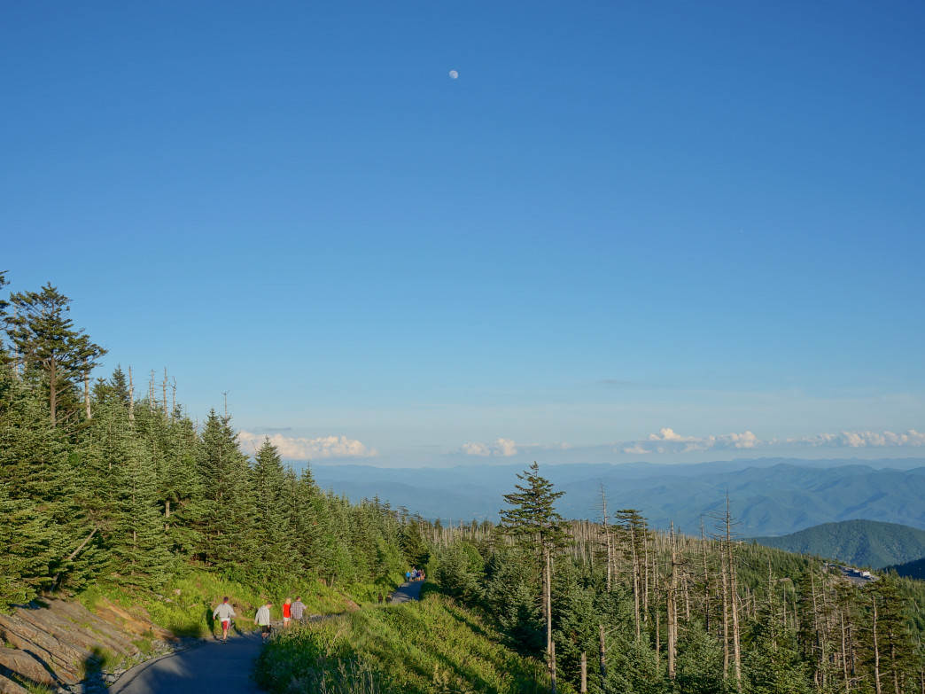 Clingman's Dome, Great Smoky Mountains National Park.