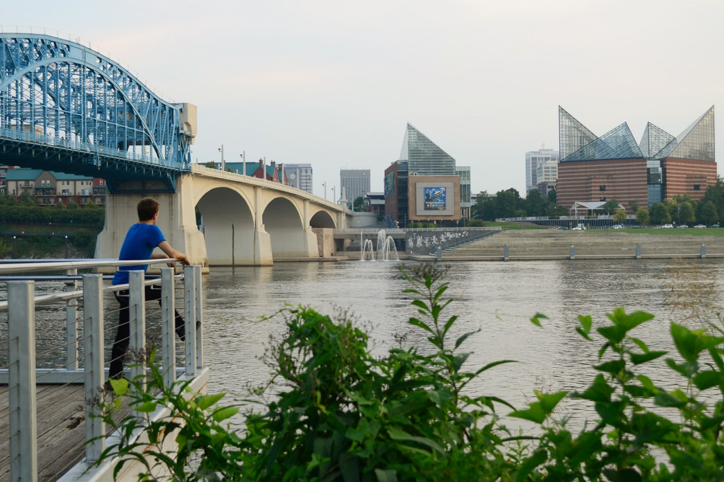 Chattanooga city planners have embraced the Tennessee River which flows through it.