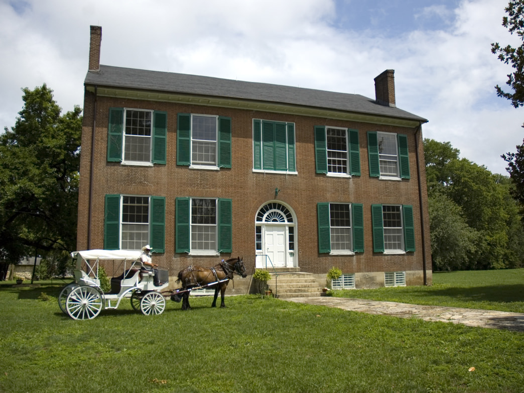 Take a ghost tour of The Mansion at Wickland, Home of the Three Governors.