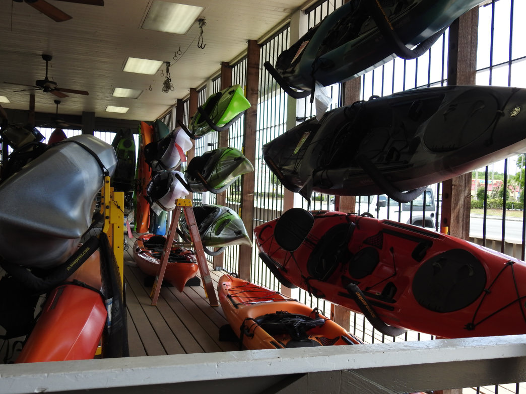 The variety of kayaks available at Travel Country fit every central Floridian paddler's need.