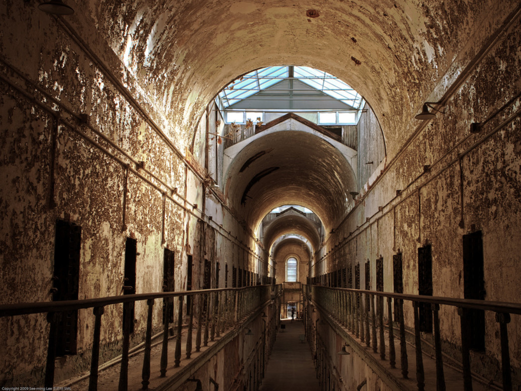 Eastern State Penitentiary is a favorite for history buffs and photographers alike.