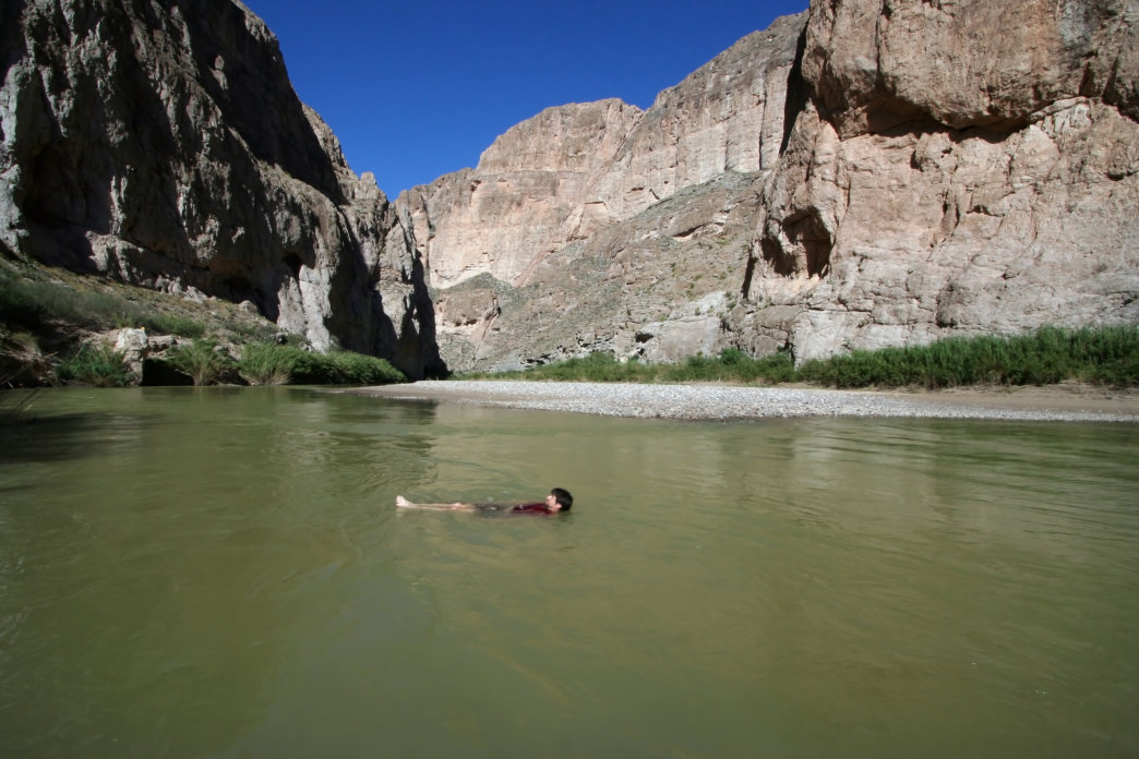 Boquillas Canyon of Texas
