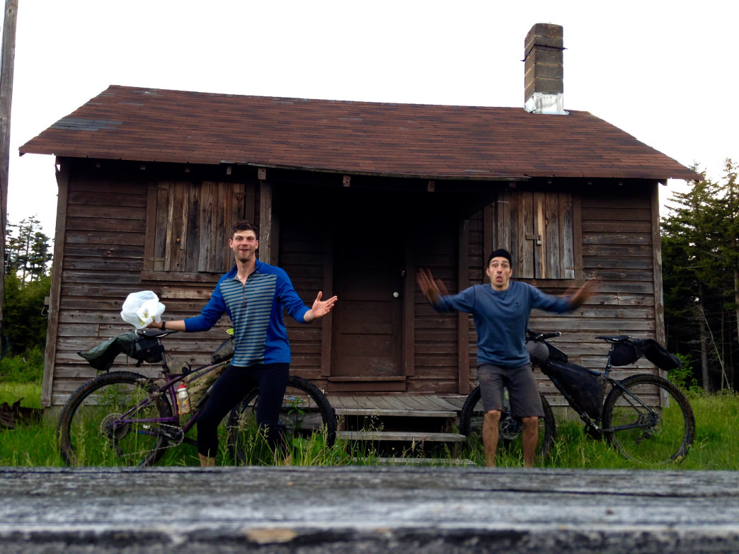 Bikepacking is even more fun with a friend or two!     Joseph DeGaetano
