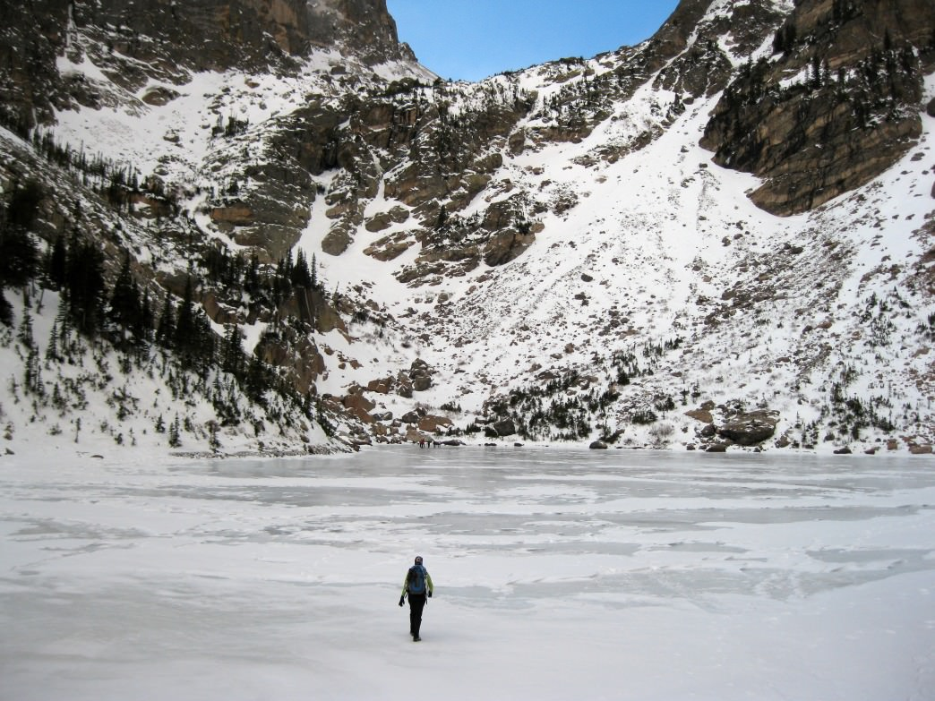 A Winter hike to Emerald Lake.