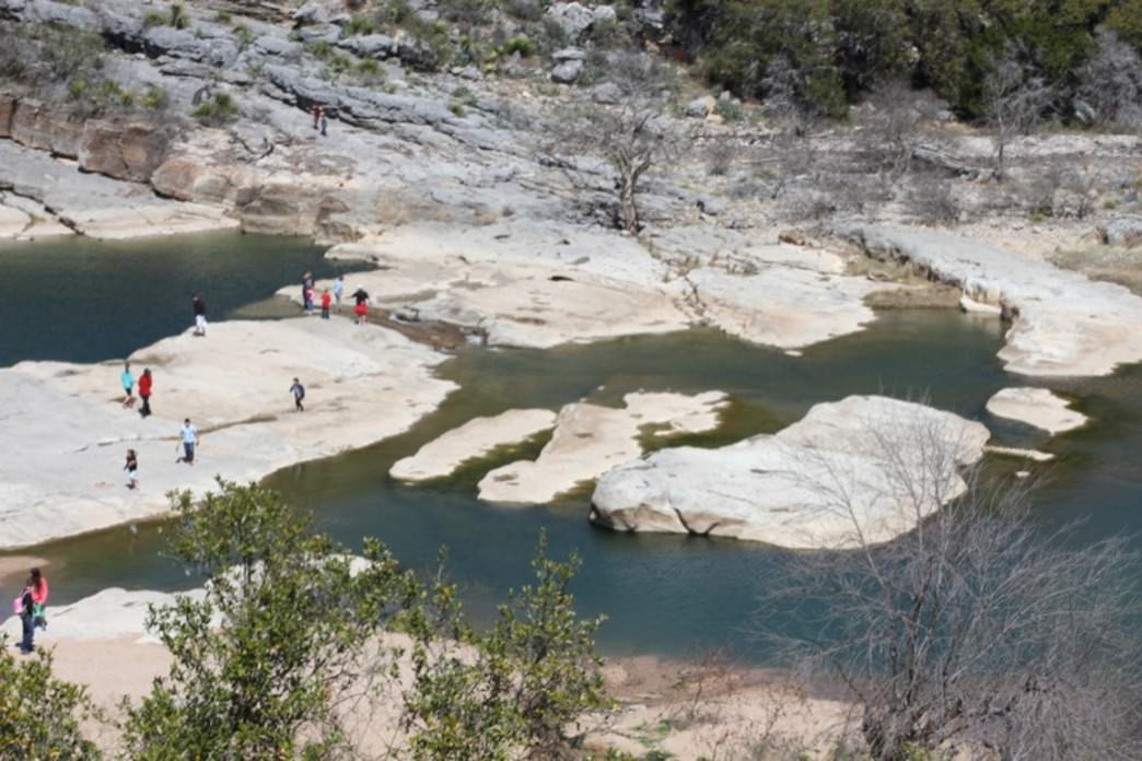 Pedernales Falls State Park - Backpacking and Camping