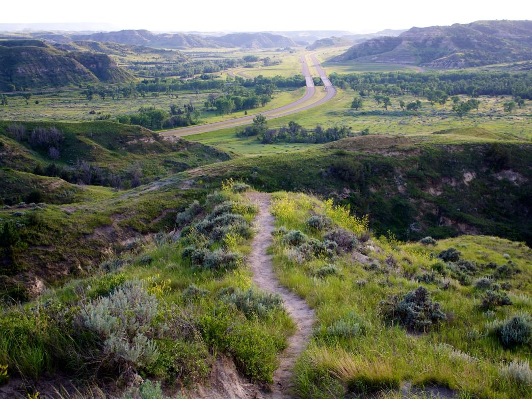 Theodore Roosevelt National Park, North Dakota.
